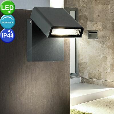 LED Exterior Casa Pared Lámpara Puerta de Entrada Foco Jardín Spot Luz...