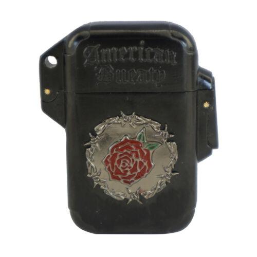 American Beauty Single Jet Flame Butane Cigarette Cigar Torch Lighter – Rose