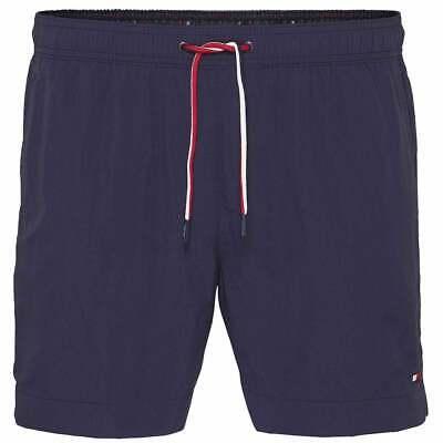 9e3fbbe372 Tommy Hilfiger Medium Drawstring Swim Shorts, Navy Blazer Mens Swimwear