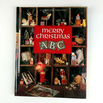 Merry Christmas ABC Leisure Arts Full Color Charts 96 Pages HC 1st Printing 1993 ()
