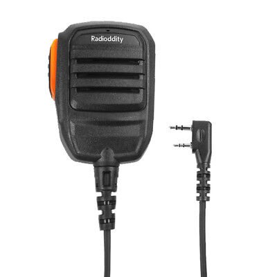2 Pin Lautsprcher Mikrofon für GD-77 Baofeng UV-5R GT-3 5TP TYT 8000E Funkgerät