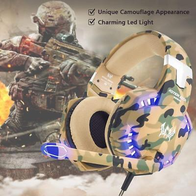 G2600 Camo Gaming Headset For PS4 New Xbox One 3.5mm Stereo Headphone with MIC