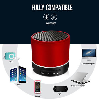 BLUETOOTH WIRELESS SPEAKER MINI PORTABLE SUPER BASS FOR IPHONE SAMSUNG TABLET PC ()