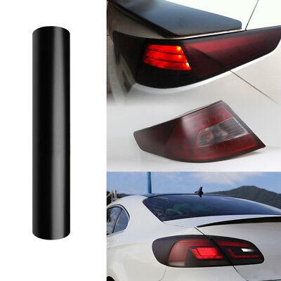 300mm x 1000mm smoked black headlight tint rear light rearlight film tail light