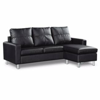 Brand New PU Leather 3 Seater Sofa