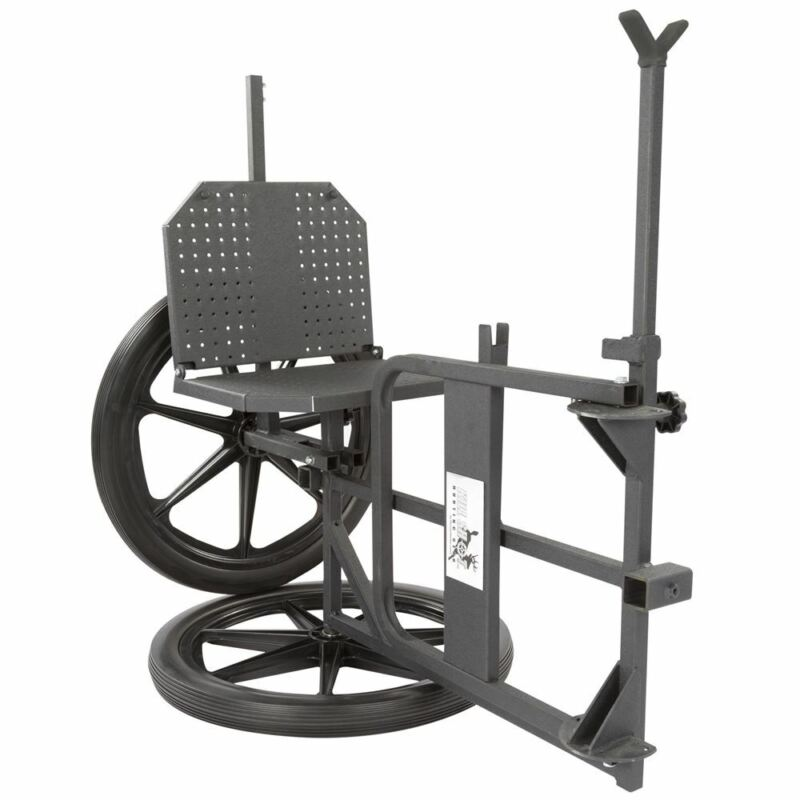 3-in-1 Hunting Chair, Game Cart, and Shooting Rest