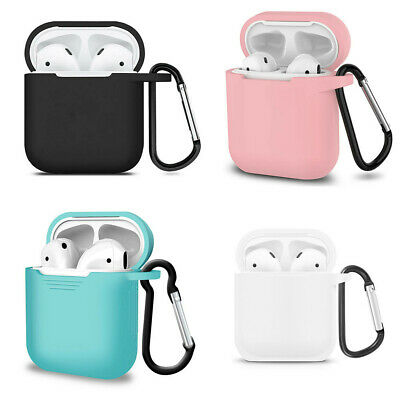 Case Silicone Protect Cover Skin Charger Cases For Apple AirPods AirPod Earphone