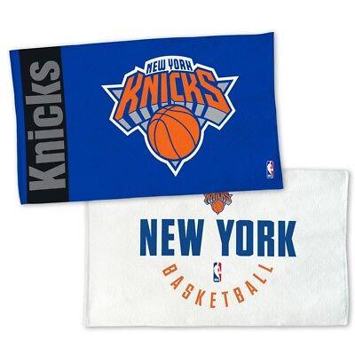 NEW YORK KNICKS AUTHENTIC EDITION ON-COURT LOCKER ROOM TOWEL 22