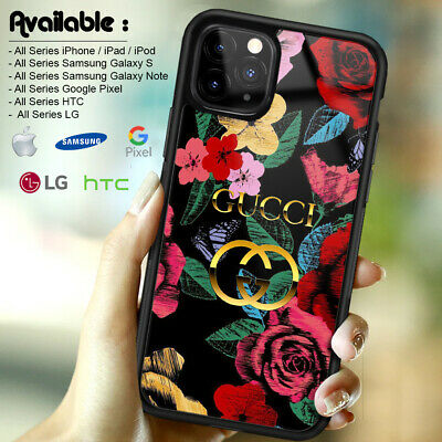 Case iPhone 6s X XR XS Guccy90rCases 11 Pro Max/Samsung Galaxy S20 S10RedFlower