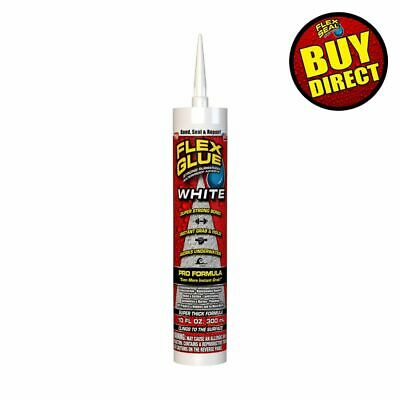 Flex Glue Strong Rubberized Waterproof Adhesive 10-oz Pro Formula