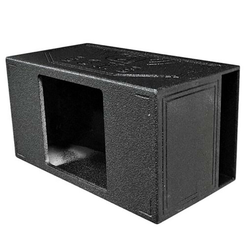 "QPower QBOMB15VLSINGSQ Single 15"" Side-Vented Kicker L7 Subwoofer Speaker Box"