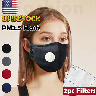 Breathable Reusable Washable Face Filter Cotton Protective Haze Smog Cover