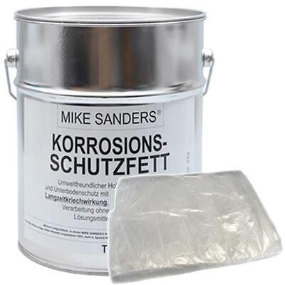 """Mike Sanders 4 kg Korrosionsschutzfett """"weiche Mischung"""" inkl. Abdeckplane 4x5 m"""