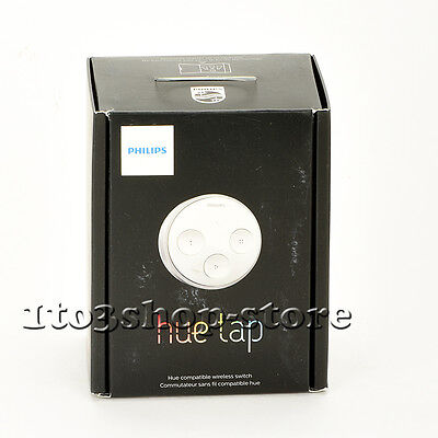 Philips Personal Wireless Lighting Hue Tap Switch for iPhone Smartphone Tablet