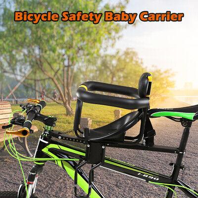 Fahrradsitz Vorne Babysitz Kinder Sattel mit Fußpedale Rückenlehne für MTB G9L6