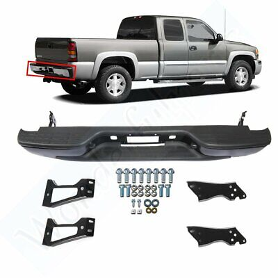 Gmc Sierra 1500 Rear Bumper - For 1999-2007 CHEVY SILVERADO/GMC SIERRA 1500 REAR BUMPER 2500 2005 2006