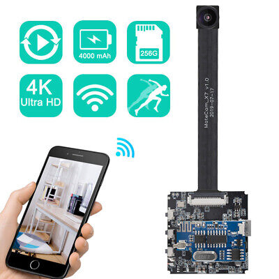 Real 4K DIY WIFI Camera 120 Degree Motion Detection Security APP Control Spy Cam