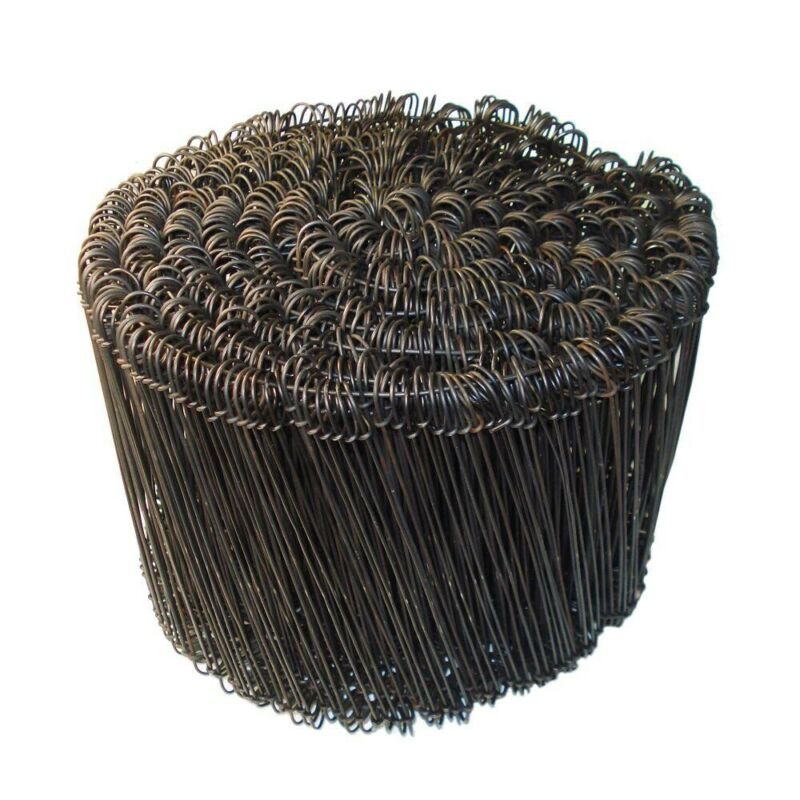 "(1,000) Rebar Tie Wire 8"" 16 Gauge Black Annealed"