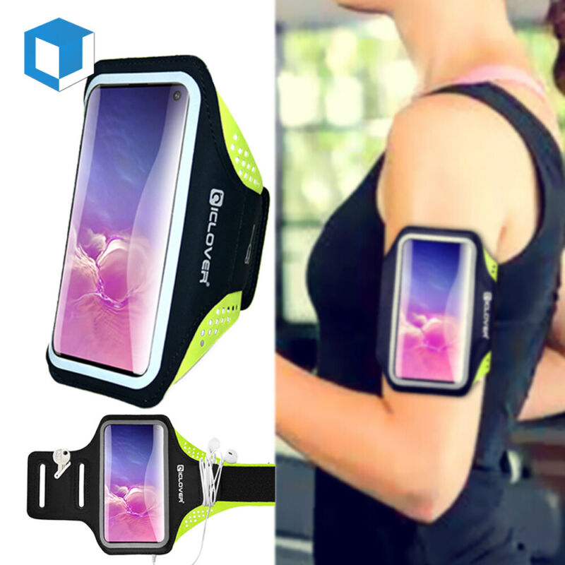 Fr Samsung Galaxy Note20 /10 S21/20 Sports Armband Arm Holder Jogging Phone Case
