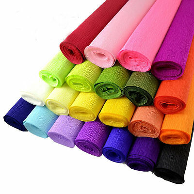 1 x Crepe Paper Streamer Roll Wedding Birthday Party Supplies Children Handmade - Birthday Supplies