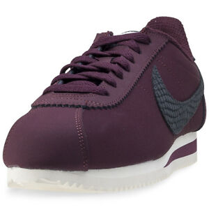 Nike-Classic-Cortez-Mens-Trainers-Burgundy-New-Shoes