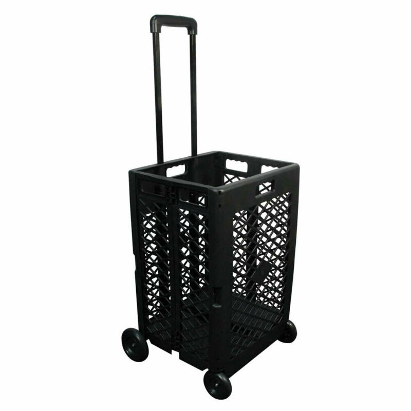 Olympia Tools 85-404 Pack n Roll 55 Pound Capacity Portable Utility Rolling Cart