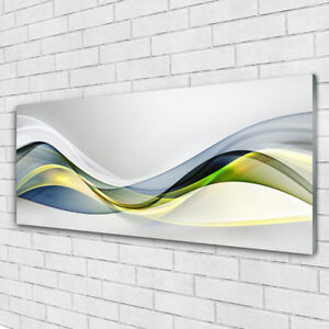 Glass print Wall art 125x50 Image Picture Abstract Art