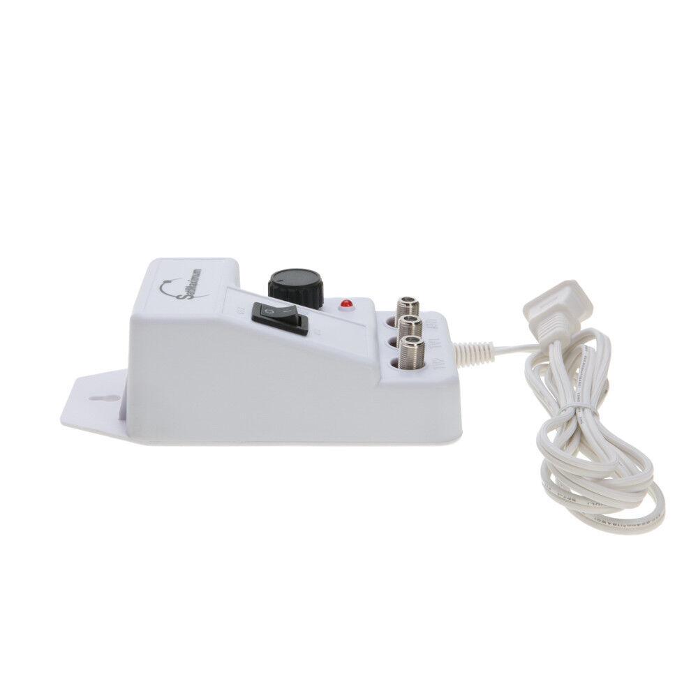 как выглядит Усилитель ТВ сигнала или фильтр 36dB Cable TV Antenna Booster Signal Amplifier 36dB HDTV AMP Range Extender фото