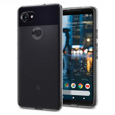 Spigen® Google Pixel 2 XL [Liquid Crystal] Slim Protection Clarity TPU Case