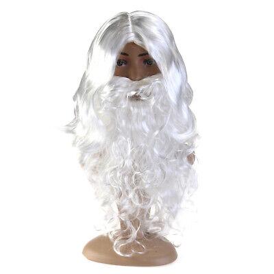 WEIHNACHTSMANN SET # Weihnachten Nikolaus Santa Bart Perücke Augenbrauen - Weihnachtsmann Set Perücke Kostüm