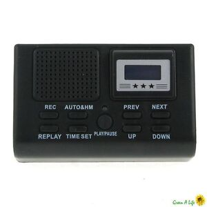 Digital Telephone Call LCD Display With SD Card Slot Phone Voice Recorder