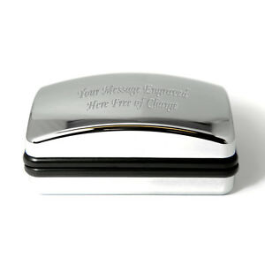 Engraved-Personalised-Chrome-Finish-Large-Cufflink-Cuff-Link-Box-With-Engraving