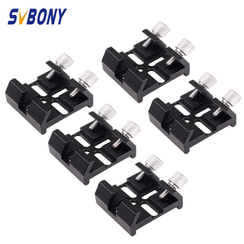 5PCS Finder scope Dovetail Slots Groove For Celestron Primary Mirror Telescope