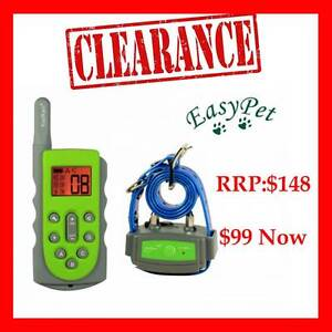Electrical Dog Fence Anti Bark Collar Fountain Feeder Training Welshpool Canning Area Preview