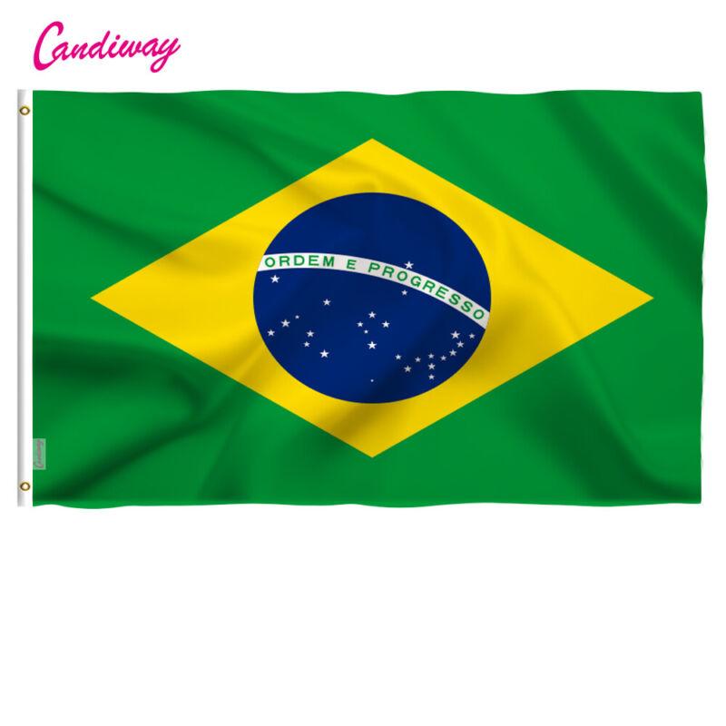 Waing bandeira do Brasil 3x5 feet Brazil flag Hanging country flag high quality