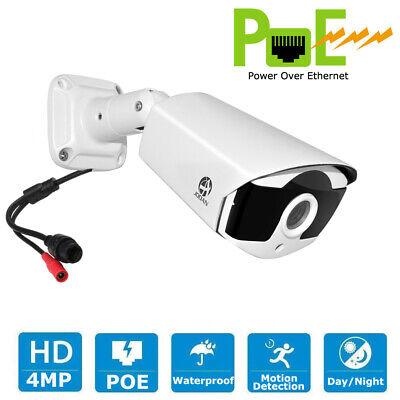JOOAN 4MP 2624P PoE IP Security Camera Onvif Outdoor Waterproof IR Night Vision