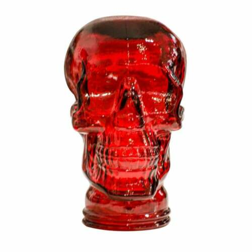 Glass Skull Display Head - Various colours ideal for Headphones, hats etc