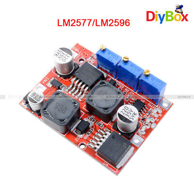 Dc-dc Step Up Down Boost Buck Voltage Converter Module Lm2577s Lm2596s Power D
