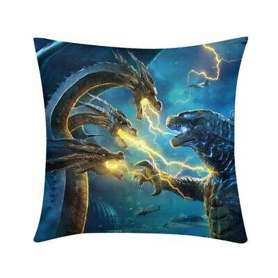 Godzilla King of the Monster Throw Pillow Case Cushion Cover Home Sofa Decor ](Monster Pillows)