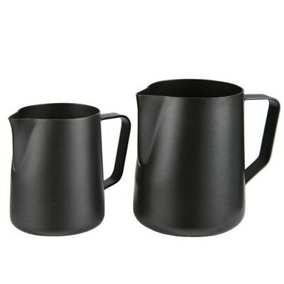 French Press Coffee Coat (350ml/600ml Teflon Non-stick Coating Coffee Latte Tool Milk Frothing Pitcher)