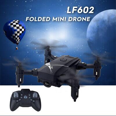 LF602 2.4G 4CH Mini Drone Foldable RC Quadcopter RTF 3D Spin Remote Control T4K3