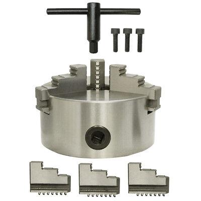 6 3-jaw Self-centering Chuck Lathe Milling Internal External Grinding Machines