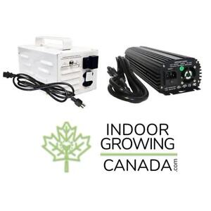 Electronic & Magnetic Ballasts / Grow Light Kits Ballasts - Indoor Hydroponic and Soil Growing | IndoorGrowingCanada.com