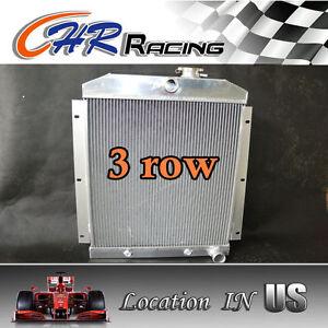 3 ROW fit 47-54 Chevy C/K Series/47-54 Chevy Suburban ALL Aluminum Radiator