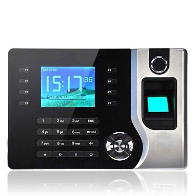 2.4 Colorful Tft Usb Biometric Fingerprint Time Attendance Tcpip Usb Scanner
