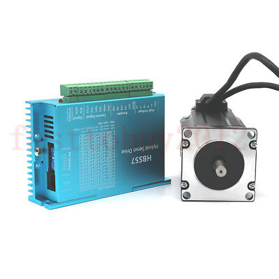 3nm Closed-loop Stepper Motor Nema23 428oz-in Hybrid Servo Driver For Cnc Router