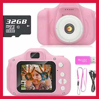 Gift Kids Camera Toys For 3 9 Year Old Girls Compact Cameras Children Best