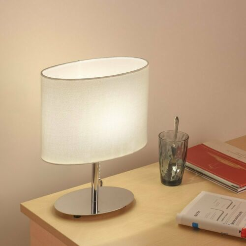 Bedside Table Lamp with USB Port Pull Chain Nightstand Desk