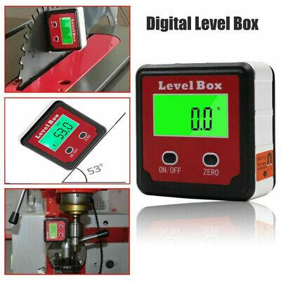 Digital Level Box Magnetic Angle Finder Protractor Bevel Saw Gauge Inclinometer.