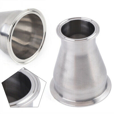 2.5 To 4 Tri Clamp Tri Clover Sanitary Concentric Reducersus 304 Stainless